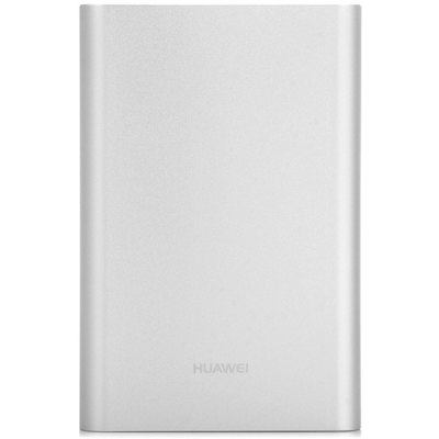 HUAWEI AP007 13000mAh Mobile Power Bank Portable External BatteryPower Banks<br>HUAWEI AP007 13000mAh Mobile Power Bank Portable External Battery<br><br>Battery Type: Li-ion Battery<br>Capacity (mAh): 13000mAh<br>Capacity Range: Over 10000mAh<br>Color: Silver<br>Connection Type: Two USB Output Interface, Micro USB<br>Input: 5V, 2A<br>Mainly Compatible with: LG, Apple, SAMSUNG, Universal, HTC, Nokia, Blackberry, Motorola, Sony Ericsson<br>Material: Metal<br>Model: AP007<br>Operating temperature : 0 to +45 Celsius degree<br>Output: 5V, 2A<br>Package Contents: 1 x 13000mAh Power Bank, 1 x USB Cable<br>Package size (L x W x H): 15.50 x 10.50 x 3.50 cm / 6.09 x 4.13 x 1.38 inches<br>Package weight: 0.405 kg<br>Product size (L x W x H): 11.70 x 7.60 x 2.30 cm / 4.60 x 2.99 x 0.90 inches<br>Product weight: 0.342 kg<br>Storage environment: -20 to +45 celsius degree<br>Type: Portable Mobile Powers