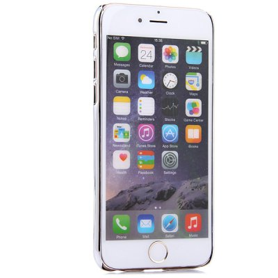 Фотография Electroplate Transparent Syle Back Cover Case for iPhone 6  -  4.7 inches