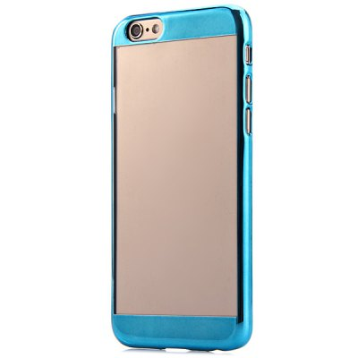Electroplate Transparent Syle Back Cover Case for iPhone 6 Plus  -  5.5 inches