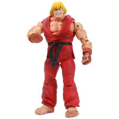 Гаджет   Game Street Fighter Ken Model Building Block Feature for Collection Dolls & Action Figures