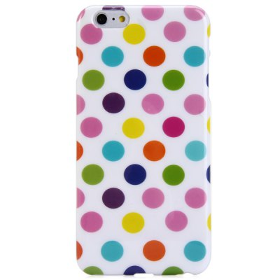 TPU Material Dot Pattern Phone Back Cover Case for iPhone 6  -  4.7 inchiPhone Cases/Covers<br>TPU Material Dot Pattern Phone Back Cover Case for iPhone 6  -  4.7 inch<br><br>Compatible for Apple: iPhone 6<br>Features: Back Cover<br>Material: TPU<br>Style: Novelty, Round Dots<br>Color: Green, Black, Purple, White, Rose, Pink, Orange, Red, Assorted Colors, Yellow, Blue, Multi-Color<br>Product weight : 0.020 kg<br>Package weight : 0.040 kg<br>Product size (L x W x H): 13.9 x 6.8 x 0.8 cm / 5.46 x 2.67 x 0.31 inches<br>Package size (L x W x H) : 14.5 x 7.5 x 1.5 cm / 5.70 x 2.95 x 0.59 inches<br>Package contents: 1 x Case