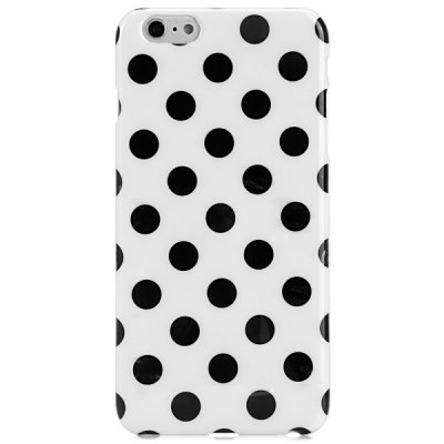 TPU Material Dot Pattern Phone Back Cover Case for iPhone 6  -  4.7 inch