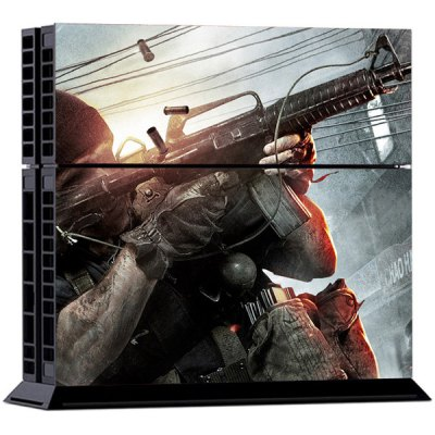 Shoot Style Game Console and Handle Protection Stickers Skin Decal for PS4