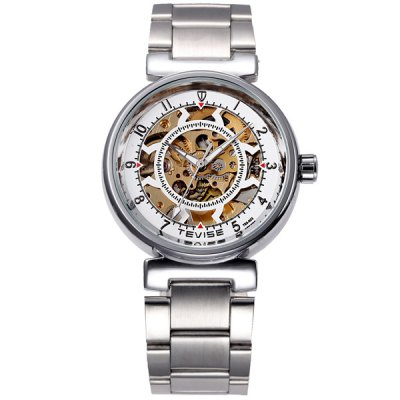 ФОТО Tevise 750 - 003 Hollow - out Design Male Automatic Mechanical Watch