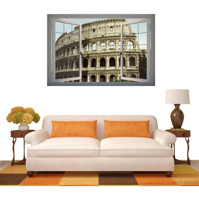 Roman Arena Style 3D Wall Sticker