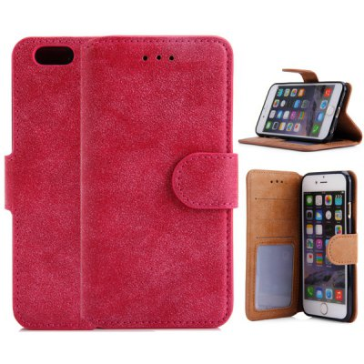 PU Leather and TPU Material Cover Case for iPhone 6 - 4.7 inch