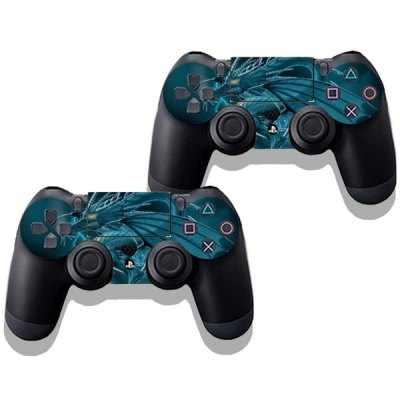 Гаджет   Dragon Style Game Console and Handle Protection Stickers Skin Decal for PS4 Video Game