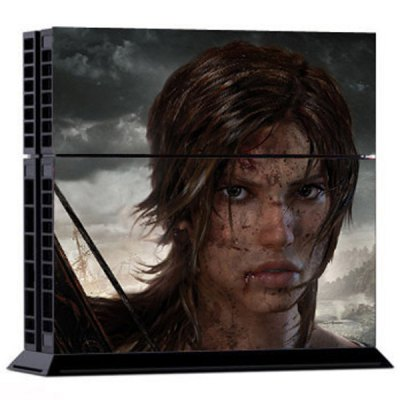 Фотография Battleground Girl Style Game Console and Handle Protection Stickers Skin Decal for PS4