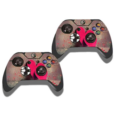Фотография Protective Game Player and Controller Skin Sticker with Heart Pattern for Xbox One