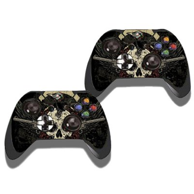 Фотография Protective Game Player and Controller Skin Sticker with Skull Pattern for Xbox One