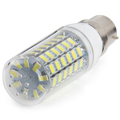 Фотография High Brightness B22 8W SMD 5630 69 LEDs Corn Light Bulb ( 780LM Pure White 100  -  120V )