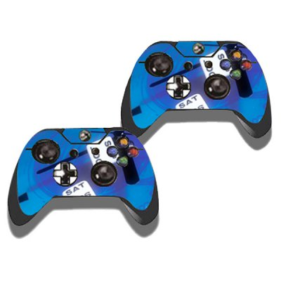 Фотография Protective Game Player and Controller Skin Sticker with Airplane Pattern for Xbox One