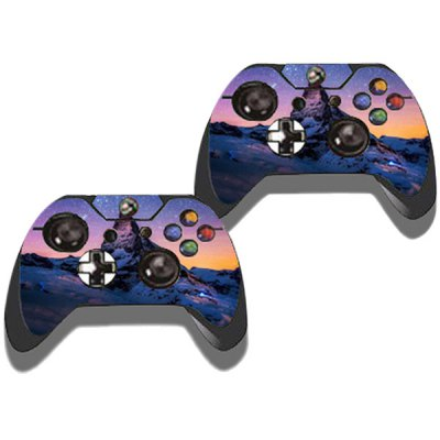Фотография Protective Game Player and Controller Skin Sticker with Starry Pattern for Xbox One