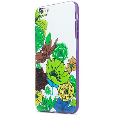 Гаджет   Beautiful Flower Pattern Back Cover Case for iPhone 6 Plus  -  5.5 inches iPhone Cases/Covers