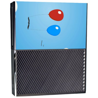 Гаджет   Protective Game Player and Controller Skin Sticker with Balloons Pattern for Xbox One Video Game