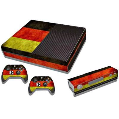 Germany Flag Pattern Skin Sticker for Xbox One