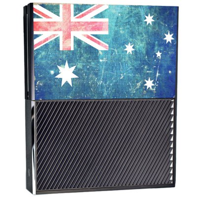 Australia Flag Pattern Style Game Console Gamepad Sticker for Xbox OneGame Accessories<br>Australia Flag Pattern Style Game Console Gamepad Sticker for Xbox One<br><br>Compatible with: Xbox one<br>Features: Sticker<br>Product Weight: 0.058 kg<br>Package Weight: 0.110 kg<br>Product Size: 36.5 x 34 x 0.4 cm / 14.34 x 13.36 x 0.16 inches<br>Package Size: 41.6 x 35.2 x 0.5 cm / 16.35 x 13.83 x 0.20 inches<br>Package Contents: 1 x Console Sticker, 2 x Handle Sticker