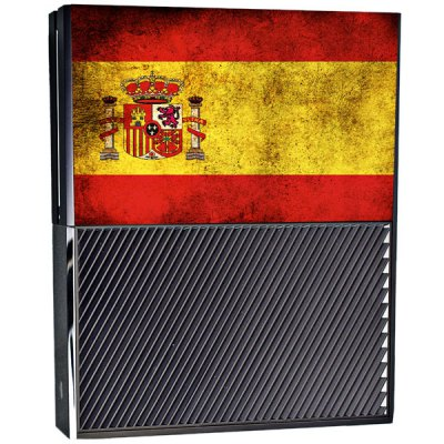 Фотография Spain Flag Pattern Style Game Console Gamepad Sticker for Xbox One
