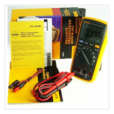 FLUKE - 17B+ High Performance Digital Meter DMM Electrical AC / DC / Temperature / Frequency / Capacitance etc. Tester