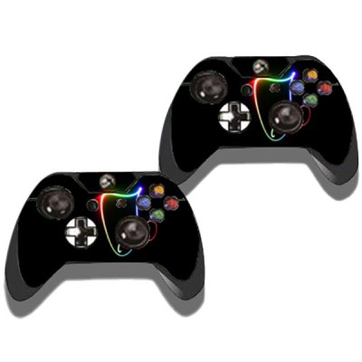 Фотография Music Note Pattern Style Game Console Gamepad Sticker for Xbox One