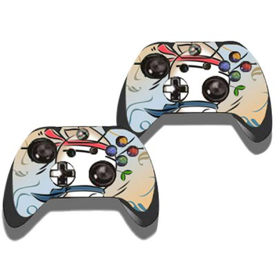 Фотография MashiMaro Pattern Style Game Console Gamepad Sticker for Xbox One