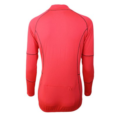 Arsuxeo 60017 Breathable Female Cycling Jersey Long Sleeve Bike Bicycle Outdoor Sports Running ClothesCycling Clothings<br>Arsuxeo 60017 Breathable Female Cycling Jersey Long Sleeve Bike Bicycle Outdoor Sports Running Clothes<br><br>Type: Cycling Jerseys<br>Brand Name: Arsuxeo<br>Model Number: 60017<br>For: Woman<br>Material: Polyester, Lycra<br>Functions: Quick-drying, Soft, Flexible, Breathable<br>Suitable for : Bike, Motorbike, Mountain Bicycle, Road Bike, Electrombile<br>Color: Green, Red<br>Size: XL, L, M, S<br> Product weight : 0.220 kg<br>Package weight : 0.270 kg<br>Package size (L x W x H)  : 24 x 22 x 4 cm / 9.43 x 8.65 x 1.57 inches<br>Package Contents: 1 x Cycling Jersey