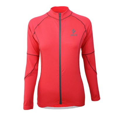 Гаджет   Arsuxeo 60017 Breathable Female Cycling Jersey Long Sleeve Bike Bicycle Outdoor Sports Running Clothes Cycling Clothings