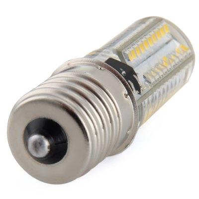 E17 3W 80 SMD 3014 Mini Silicone Gel LED Corn Light Crystal Spotlight ( Soft White AC 220V )LED Light Bulbs<br>E17 3W 80 SMD 3014 Mini Silicone Gel LED Corn Light Crystal Spotlight ( Soft White AC 220V )<br><br>Base Type: E17<br>Type: Corn Bulbs<br>Output Power: 3W<br>Emitter Type: SMD-3014 LED<br>Total Emitters: 80<br>Wavelength/Color Temperature: 3000-3500K, 5500-6000K<br>Voltage (V): AC 220<br>Angle: 360 degrees<br>Appearance: Silicone Shell<br>Features: Energy Saving, Low Power Consumption, Long Life Expectancy, Dimmable<br>Function: Home Lighting, Commercial Lighting<br>Available Light Color: Warm White, Cold White<br>Sheathing Material: Silicone<br>Product Weight: 0.012 kg<br>Package Weight: 0.04 kg<br>Product Size (L x W x H): 5.1 x 1.6 x 1.6 cm / 2.00 x 0.63 x 0.63 inches<br>Package Size (L x W x H): 6 x 2 x 2 cm / 2.36 x 0.79 x 0.79 inches<br>Package Contents: 1 x E17 80 SMD-3014 Silicone Mini LED Corn Bulb