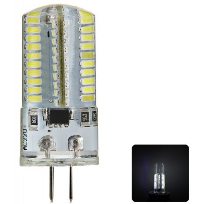 G4 3W 80 x SMD 3014 Crystal LED Corn Lamp