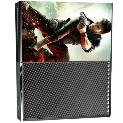 Гаджет   Protective Game Player and Controller Skin Sticker with Gunfight Pattern for Xbox One Video Game