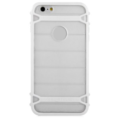 Гаджет   TPU and PC Material Transparent Phone Back Cover Case for iPhone 6 Plus  -  5.5 inch iPhone Cases/Covers