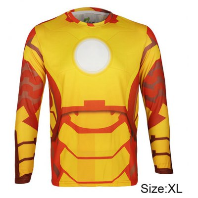Arsuxeo Giant Spider Style Thermal Transfer Cycling Jersey