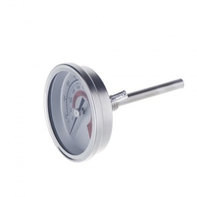 Фотография Dual Gage Stainless Steel Temperature Measurement Control Thermometer