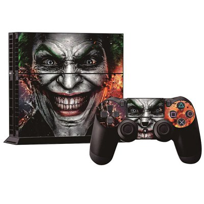 Гаджет   Protective Game Player and Controller Skin Sticker with Monster Face Pattern for Sony PlayStation 4 Video Game