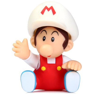 Super Mario Bros Baby White Cap Figure 9cm