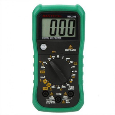 ФОТО MASTECH MS8239B Digital Multimeter DMM Volt Current Resistance Battery Tester