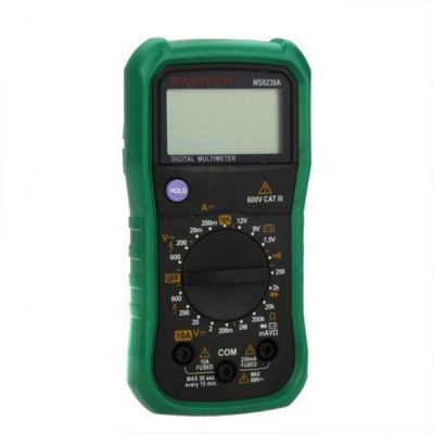 ФОТО MASTECH MS8239A 2000 Counts Digital Multimeter DMM LCD Display with Battery Test