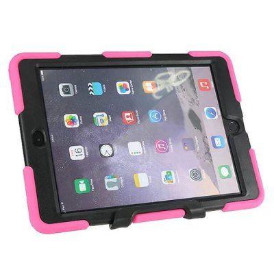 Фотография Novelty PC and Silicone Material Back Cover Case for iPad Air 2
