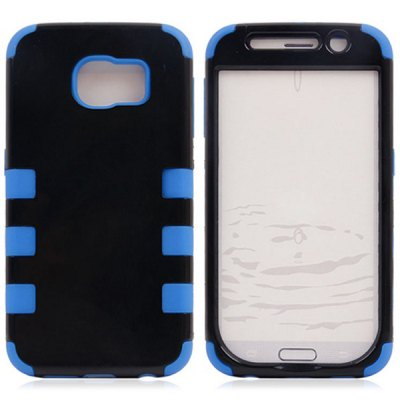 ФОТО Practical Plastic and Silicone Material Back Cover Case for Samsung Galaxy S6 G9200