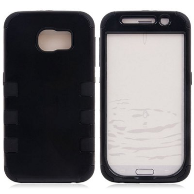 Practical Plastic and Silicone Material Back Cover Case for Samsung Galaxy S6 G9200