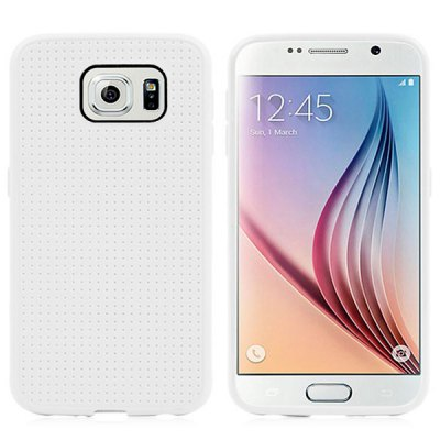 Гаджет   Soft TPU Material Dot Design Back Cover Case for Samsung Galaxy S6 G9200 Samsung Cases/Covers