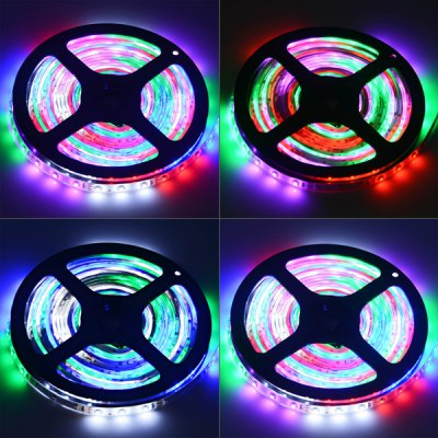 HML 5M 30W 300 SMD 3528 Water Resistant Flexible RGB LED Strip Light