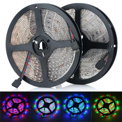 HML 5 Meters 300 x SMD 3528 Flexible Water - resistant LED RGB Strip Tape Lighting