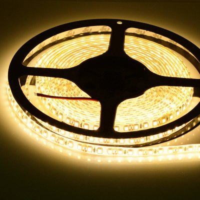 HML 5M 48W 600 SMD 3528 Water-resistant LED Strip Lighting 3300K