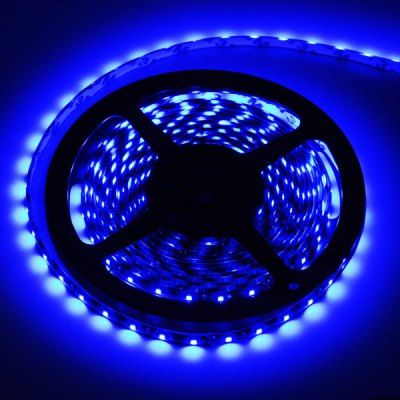 HML 5M 300 SMD 3528 Water-resistant Flexible LED Strip Light 460nm