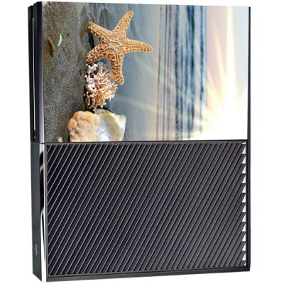 Game Console Gamepad Full Body Sticker with Starfish Shell Style for Xbox One