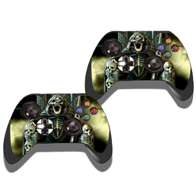 Фотография Game Console Gamepad Full Body Sticker with 3D Cool Skeleton for Xbox One