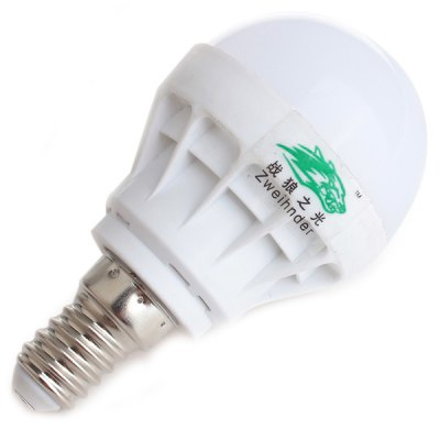 Zweihnder 3W E14 5 x SMD 5730 LED Ball Bulb