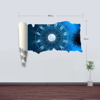 Фотография Constellation Pattern Home Appliances Decoration 3D Wall Sticker