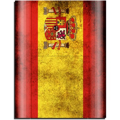 Гаджет   Spain Flag Design Game Console Gamepad Full Body Sticker for PS3 Slim 4000 Video Game